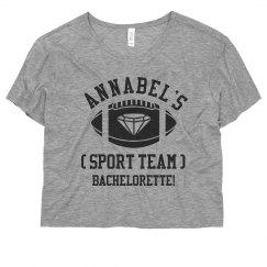 Football Team Bride