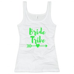 Green Bride Tribe Tank
