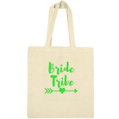 Green Bride Tribe Tote