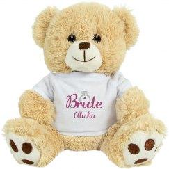 Bride To Be Stuffed Bear