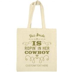 Bride Ropes Her Cowboy