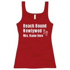Beach Bound Newlywed