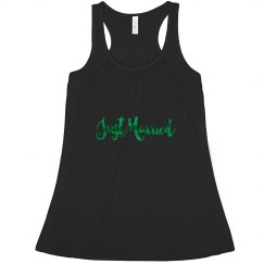 Just Married Tank Top