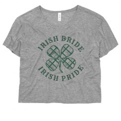 Irish Bride With Pride
