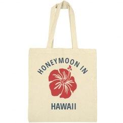 Honeymoon in Hawaii Tote Bag