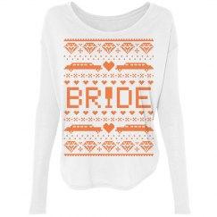 Bride Ugly Xmas Sweater