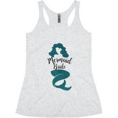 Mermaid Bride Bachelorette Tank Tops, Mermaid Tribe