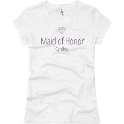 Maid of Honor Bridesmaid