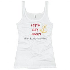 Let's Get Nauti Bling Tee