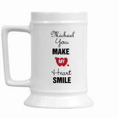 You Make My Heart Smile Mug