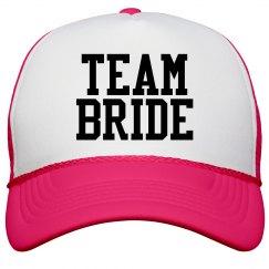 Team Bride Neon Pink