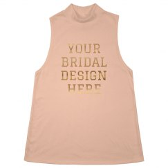 Custom Metallic Bridal Design