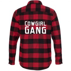 Cowgirl Gang Flannel Shirt