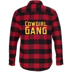 Cowgirl Gang Flannel Shirt