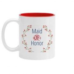Maid of Honor Proposal Mug