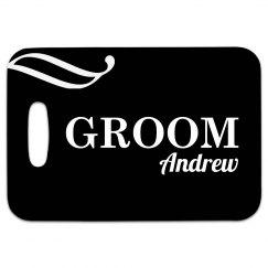 Groom Tag