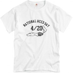 National Weed Day Men's T-shirt