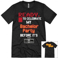 Chayse's Bacholer Party Tee