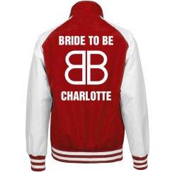 Bride To Be Baseball Logo