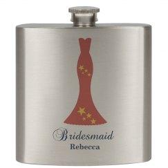 Wedding Bridesmaid Flasks