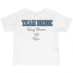 Team Bride Ring Bearer