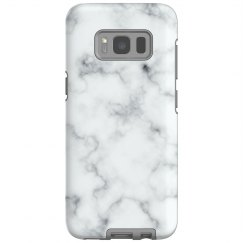 Marble Print Galaxy Phone Case