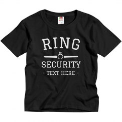 Custom Ring Security Youth