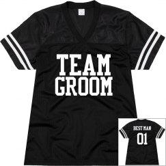 TEAM GROOM: BEST MAN