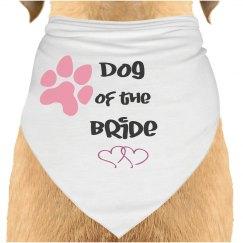 Dog of the Bride Bandana