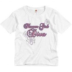 Flower Girl Diva Tee