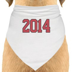 Save The Date Dog Bandana