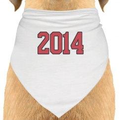 Save The Date Dog Bandana