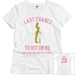 Hit On Me party fitted shirt