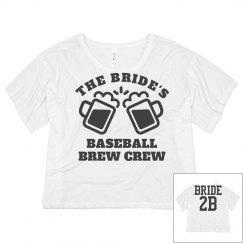 Bride's Baseball Brew Crew