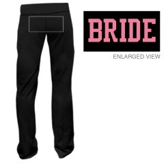 Bride Back Fitness Pants
