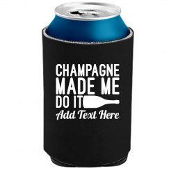 Champagne Is the Reason