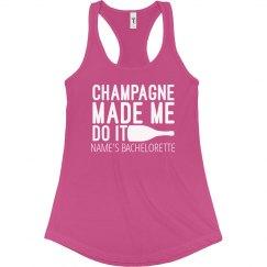 Champagne Made Me Bachelorette
