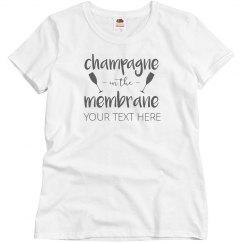 Champagne Membrane Bachelorette