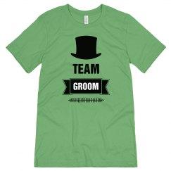 Team Groom Tshirt