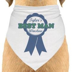 Best Man Dog Bandana