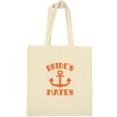 Nautical Bride's Mates Tote