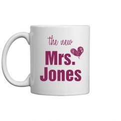 The New Mrs. Jones Mug