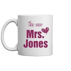 The New Mrs. Jones Mug
