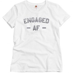 Engaged AF Rose Gold Tee