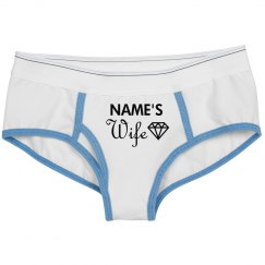 Custom Name Wife Diamond