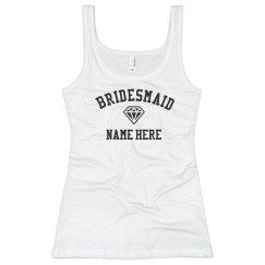 Custom Bridesmaid Diamond
