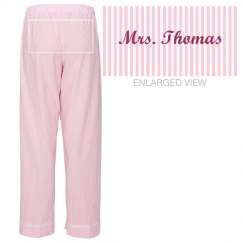 Mrs. Thomas PJ's