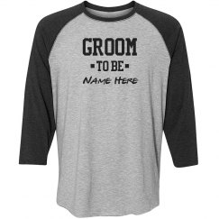Groom To Be Custom Name Matching Couples Gift