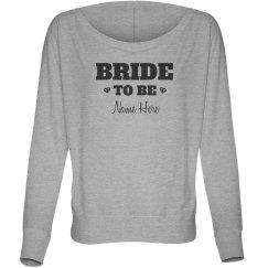 Trendy Custom Bride To Be Diamonds