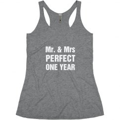 Mr Mrs Perfect One Year